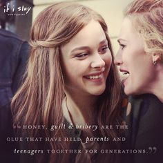 Whatever works.   If I Stay