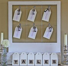 Wooden Table Plan With Clips - noticeboards