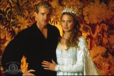 Still of Cary Elwes and Robin Wright in The Princess Bride