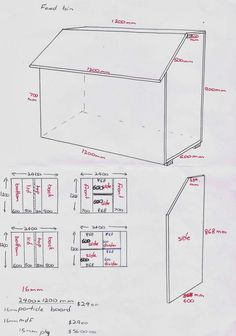 Diy Wooden Feed Bins Add Metal Sheeting To The Bottoms