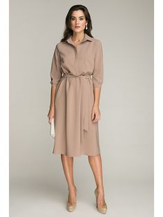 Retro Inspired Dress With Pockets Beige Dresses, Lovely Dresses, Modest Dresses, Simple Dresses, Cotton Dresses, Casual Dresses, Fashion Dresses, Summer Dresses, Jeans Fashion