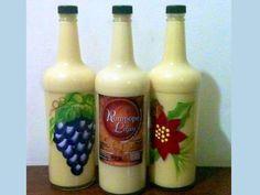 Botellas de rompopo para exportación. Mipymes esperan exportar $50 millones en productos nostálgicos durante Navidad En la temporada de fin de año, el consumo de estos productos se dispara entre los hondureños que viven en el extranjero.