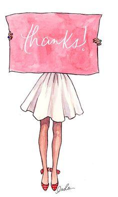 Ser más agradecida, un propósito que a veces se me olvida cumplir. ¡Gracias!