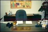 Executive's desk After - easier to focus on the most important items and accomplish tasks Supply Room, Organizing, Organization, Storage Spaces, Design Projects, Desk, Getting Organized, Organisation, Desktop