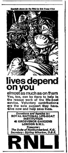 RNLI. 9 July, 1967