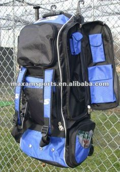 Wheeled Softball Bags Baseball Bag 5 6