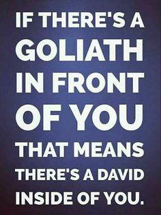 Goliath...and David