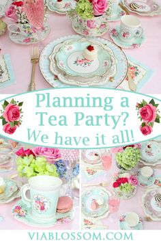 You don't want to miss our beyond gorgeous Tea Party Decorations and Supplies! You don't want to miss our beyond gorgeous Tea Party Decorations and Supplies! You will love our Tea Party Ideas fo Girls Tea Party, Tea Party Theme, Tea Party Birthday, Girl Birthday, Tea Party For Kids, Princess Birthday, Tea Party Favors, Party Party, Princess Tea Party Food