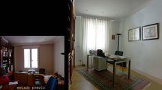 El despacho se reorganizó cambiando las mesas de trabajo y la decoración.