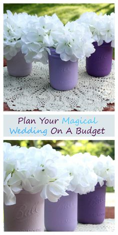 If you want to plan the wedding of your dreams, but your budget is tight? I have some great tips to plan a magical wedding on a shoestring budget More