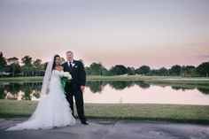 Reception at Hunters Green Golf and Country Club Navy & Green Country Club Soiree on Borrowed & Blue.  Photo Credit: Jillian Joseph Photography