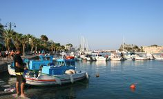 Kos Island - port Greece