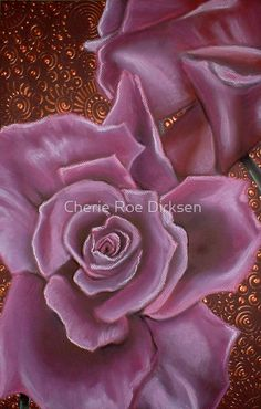 Pink Roses by Cherie Roe Dirksen