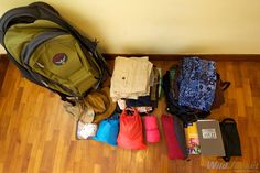 Our Packing list for a Round-the-World Trip...great travel blog. He has been everywhere!