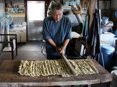Washi paper, traditional fabrication, Japan