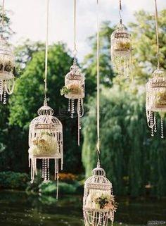 Per un #matrimonio in giardino ... lanterne sospese