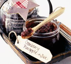 Perk up cold ham and turkey with this tangy chutney. Or, make a batch, put into pretty jars, and give as Christmas gifts