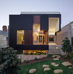 highgate hill house ~ cox rayner architects | twofold studios