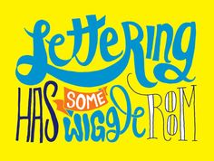 hand lettering tips