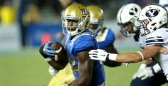 Highlights: UCLA seals comeback win after rough first half against BYU Never Give Up! After three interceptions for Josh Rosen UCLA came back to WIN! Myles Jack, Lincoln Kennedy, Ucla Bruins, First Round, Knee Injury, Espn, College Football, Comebacks, Football Helmets