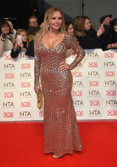 Carol Vorderman Photos Photos - Carol Vorderman attends the National Television Awards on January 25, 2017 in London, United Kingdom. - National Television Awards - Red Carpet Arrivals