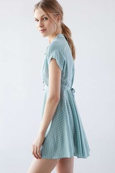 a39b7c89267 Kimchi Blue Lucy Sky Shirt Dress