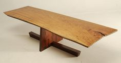 George Nakashima inspired coffee table