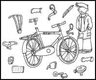 Werkblad - groep 5/6 - Een veilige fiets   VVN Basisonderwijs