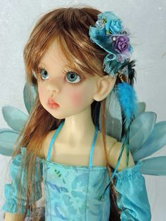 OOAK Custom Sunkissed Layla Elf MSD BJD by Kaye Wiggs...customized by Charlene Smith of Fireflies and Blossoms