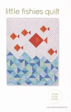 Fishies / Fish Quilt Looking for your next project? You're going to love Little Fishies Quilt by…Looking for your next project? You're going to love Little Fishies Quilt by… Beginner Quilt Patterns, Baby Quilt Patterns, Modern Quilt Patterns, Quilting Patterns, Modern Quilting, Quilting For Beginners, Quilt Baby, Boy Quilts, Quilting Projects