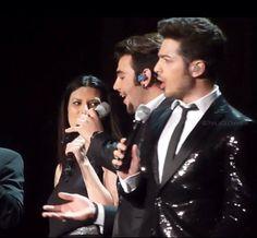 3/6/2014 Madison Square Garden, NYC Laura Pausini & ⭐️IL VOLO⭐️