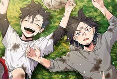 Kuroo Haikyuu, Manga Haikyuu, Manga Anime, Kuroo Tetsurou, Haikyuu Funny, Haikyuu Fanart, Fanarts Anime, Anime Art, Anime Kiss