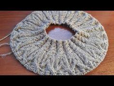 Knitted Cushion Covers, Knitted Cushions, Bead Crochet, Irish Crochet, Crochet Lace, Knitting Videos, Knitting Yarn, Knit Patterns, Stitch Patterns