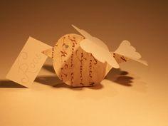 cute paper bird