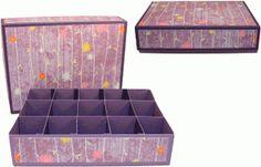 Silhouette Online Store - View Design #45284: 3d 15ct divider box w lid