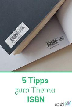 Was ist eine ISBN? Wozu braucht man eine ISBN? Diese und weitere Fragen beantworten wir euch in unseren 5 Tipps zum Thema ISBN auf unserem Blog http://www.epubli.de/blog/5-isbn-tipps