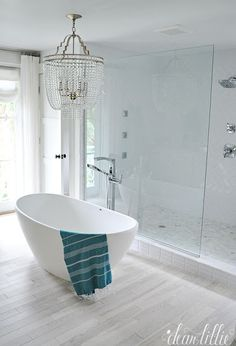 Picture Gallery For Website Dream Home Master Bathroom Master suite bathroom Hgtv and Blue colour palette