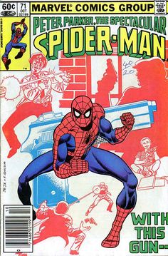 Peter Parker, The Spectacular Spider-Man # 71 by John Romita Jr. & Frank Giacoia