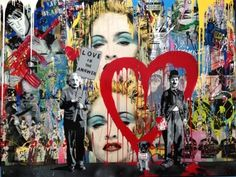 Bid now on Einstein by Mr. View a wide Variety of artworks by Mr. Brainwash, now available for sale on artnet Auctions. Graffiti Art, Urban Graffiti, Tag Art, Collages, Art Du Collage, Art Texture, Mr Brainwash, Street Art Love, Dental Art