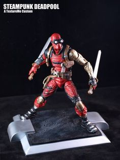 Steampunk Marvel | Steampunk Deadpool (Marvel Legends) Custom Action Figure