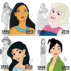 Disney Princess Ages, Funny Princess, Disney Princesses And Princes, Disney Princess Drawings, Disney Princess Pictures, Princess Art, Disney Drawings, Disney Girls, Funny Disney Jokes