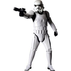 Alter Ego Comics presents the Stormtrooper Supreme Edition Costume. The Galactic Empire's trusted foot soldiers, the Stormtoopers are a striking visual element in the Star Wars universe. This flawless movie replica features a jumpsuit with molded armor pieces, gloves and a special collector's edition helmet.