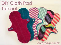 I have had several requests from friends to share how I sew reusable cloth menstrual pads, so I figured a tutorial was in order! This tutorial is meant for folks who don't have access to a serger, and...