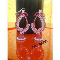 metallic paper quilled earrings - Google Search