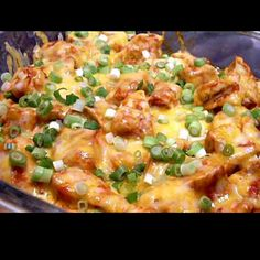 Low-carb Mexican Chicken