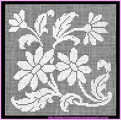 MIRIA crochets AND PAINTINGS: SCHEME TO CROCHET WITH DAISY STATEMENT