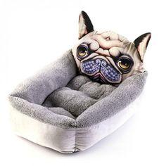 Pet Dog Nest Soft Comfortable Cartoon Printed Warm Cats House Sleeping Bag Mat Pet Supplies can CSV 3d Dog, Dog Cat, Pet Kennels, Dog Beds For Small Dogs, Buy Pets, Dog Modeling, Pet Beds, Pet Supplies, Your Dog
