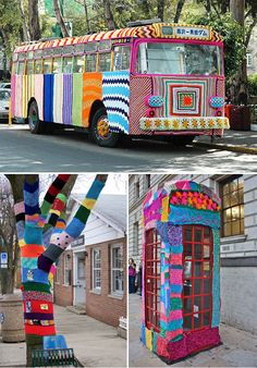 Design Free Thursday | Yarn Bombing {aka Graffiti Knitting}. | Yellowtrace — Interior Design, Architecture, Art, Photography, Lifestyle & Design Culture Blog.