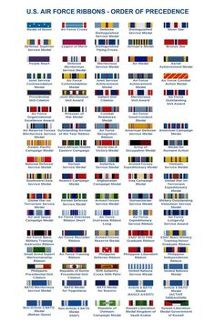 U S Air Force Ribbons Order Of Procedence Tap The Link Now We Provide Best Essential Unique Equipment And Gear For Active Duty American Patriotic