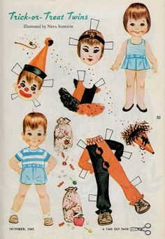 1000+ images about Vintage Paper Dolls on Pinterest | United we ...